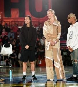 adidas HOSTS A PINNACLE BASKETBALL EXPERIENCE AT 747 WAREHOUSE STREET IN LOS ANGELES
