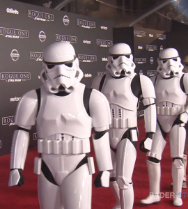 """Lucasfilm Hosts """"Rogue One: A Star Wars Story"""" Red Carpet Hollywood Premiere"""