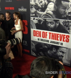 Gerard Butler stars in the fast paced ever changing crime drama 'Den of Thieves'
