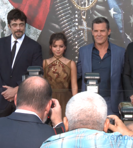 Bader Content Studios Hollywood on the Red Carpet of the Premiere of 'Sicario: Day of the Soldado'